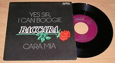 "7"" Baccara/Yes Sir, I Can Boogie/Single AMIGA 456292"