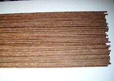 35 Holzleisten Sapeli-Pommelé 800 x 5 x 0,6 mm