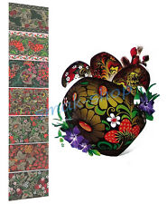 HEAT SHRINK WRAP SLEEVE STICKER DECORATION EASTER 7 EGG PYSANKA HOHLOMA