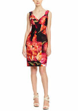 NWT $530 NICOLE MILLER SLEEVELESS SEAMED LAURENCE FIRE FLOWER DRESS SZ 6