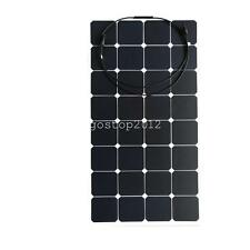 100 Watt 100W 18V 18 Volt Semi Flexible Solar Panel  RV Boat Battery System
