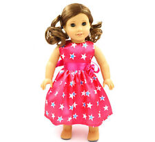 Fashion Handmade New clothes dress for 18inch American girl doll party  b126