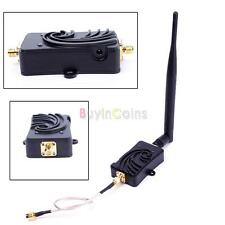 5W 2.4GHz WiFi Wireless Broadband Amplifier Signal Booster With Antenna Durable