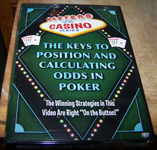 Masters of the Casino Series -The Keys to Position and Calculating the Odds DVD
