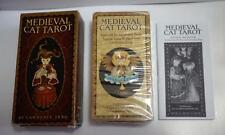 Medieval Cat Tarot Deck By Gina Pace Illustrated By Lawrence Teng Sealed Deck