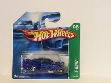 HOTWHEELS TREASURE HUNT COLLECTORS 2012 JADED IN BLUE