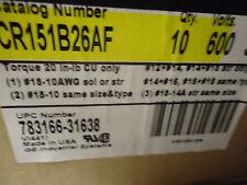Case of 10 GE Terminal Board CR151B26AF 600V 30A
