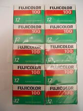 Fuji  Color CN 100 Speed 35mm film For Color Prints 12exp. 10 Rolls  07/2010 New