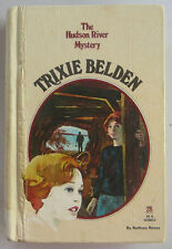 TRIXIE BELDEN #28 The Hudson River Mystery Kathryn Kenny FIRST Edition Oval HB