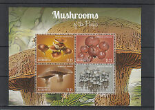 Micronesia 2013 MNH Mushrooms of Pacific II 4v M/S Nature Gymnopilus Psilocybe