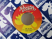 CHICAGO BLUES 45: CASEY JONES on ROOSTER BLUES with MAURICE JOHN VAUGHN guitar