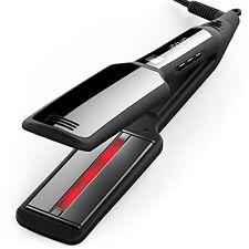 Professional Infrared Flat Iron Hair Straightener Tourmaline Ceramic - 2 Inch