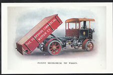 Transport Postcard - The Yorkshire Commercial Motor Co - Tip Wagon  DR118