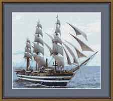 Tall Ship Cross Stitch Kit