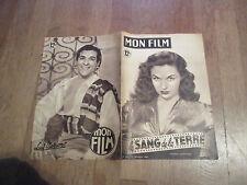 REVUE MON FILM 174 le sang de la terre susan hayward luis mariano 1949