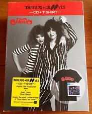 Heart - The Very Best Of Cd & Extra Large T Shirt Boxset Threads Grooves Sealed
