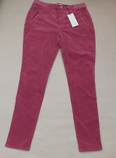 PAUL SMITH SKINNY CORDUROY TROUSERS BNWT £160 PINK PANTS LADIES WOMENS 32 w  30L