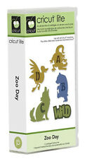 NEW!!  Cricut cartridge Zoo Day!!  Includes a font!!  HTF and Free shipping!
