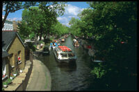 579023 Tourist Boats Regents Canal London England A4 Photo Print