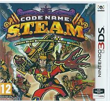 Code Name S.T.E.A.M. Steam   - Nintendo 3DS - New & Sealed UK Stock