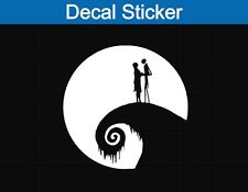 Jack Skellington Moon Decal Sticker Nightmare Before Christmas Car Laptop 5 Inch
