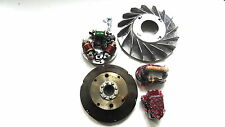 Vespa Stator Plate and Flywheel kit 12 V Electronic Vespa Super,VBB,VNB,GTR,etc.