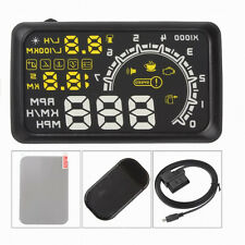 5.5 inch Screen Car HUD Head Up Display Car Styling Speeding Warning System 12V