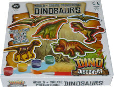 Create And Paint Your Own Plaster Dinosaurs
