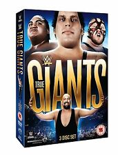 WWE True Giants 3er [DVD] Set NEU Andre The Giant, Big Show, Yokuzuna, Sid