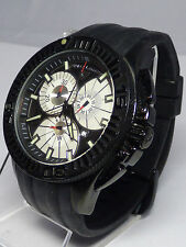 Swiss Legend Men's Black Watch Evolution Chronograph Band WORKS