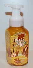 NEW BATH & BODY WORKS GOLDEN AUTUMN DAY GENTLE FOAMING HAND SOAP WASH LEAVES