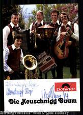 Die Keuschnigg Buam AK 70er Jahre Orig.Sign.+9898 + 30868