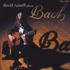 David Russell Plays Bach - David Russell (2003, CD NEUF) Russell (GTR)