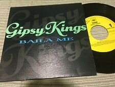 "GIPSY KINGS SPANISH 7"" SINGLE SPAIN ONE SIDED - BAILA ME - FLAMENCO"