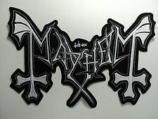 MAYHEM  EMBROIDERED BACK PATCH