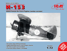 ICM 1/72 Polikarpov I-153 WWII Finnish Air Force Fighter (Winter Version) # 7207
