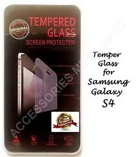 Genuine Temper Glass screen protector guard Anti scratch for SAMSUNG GALAXY S4