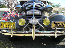 NEW 1930`S CAR / TRUCK VINTAGE STYLE CHROME METAL BUMPER A-BAR !