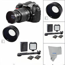 WIDE ANGLE +MACRO +36 LED LIGHT FOR NIKON D3100 D3200 D3300 D5000 D5100 D5200