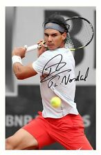 RAFA NADAL AUTOGRAPHED SIGNED A4 PP POSTER PHOTO 3