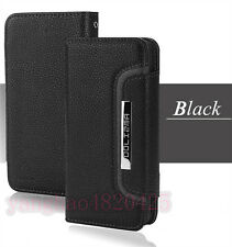 Lichee Leather Magnetic REMOVABLE Detachable Wallet Flip Case Cover for Phones