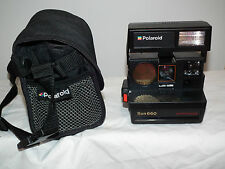 POLAROID SUN 660 Autofocus (600) Instant Land Camera with BagTested