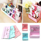 DIY Paper Board Storage Box Desktop Book Organizer Makeup Cosmetic Container Hot