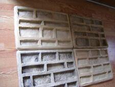 .4 .Ledgestone Veneer Concrete Rubber Molds Kit..DIY..START A MFG BUSINESS TODAY