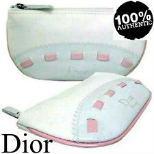 100%AUTHENTIC Exclusive MISS DIOR CHERIE COUTURE BEAUTY~MAKEUP~TRAVEL WHITE BAG