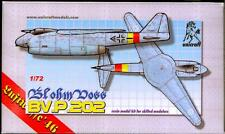 Unicraft Models 1/72 BLOHM und VOSS Bv.P.202 Swing Wing Fighter Project