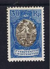 Liechtenstein *  MiNr 64 Kirche in Bendern