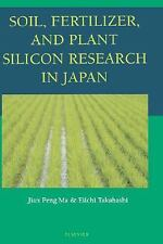 Soil, Fertilizer, and Plant Silicon Research in Japan-ExLibrary