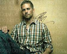 Paul Walker signed Fast Furious Into the Blue 8X10 photo picture autograph RP 9