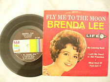 BRENDA LEE EP FLY ME TO THE MOON usa issue life / ed 2745 4 track ep
